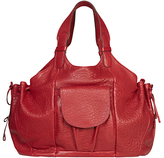 Gerard Darel Le New D Leather Shoulder Bag