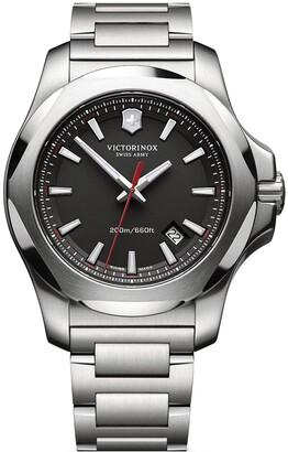 Victorinox Men's I.N.O.X. Analog Quartz Bracelet Watch, 43mm