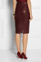 Zero Maria Cornejo Nobi stretch-leather pencil skirt