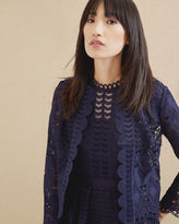 Ted Baker Scalloped lace jacket