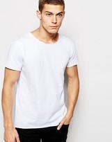 Junk De Luxe Raw Edge Organic T-shirt
