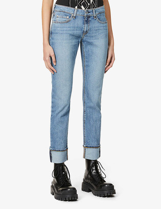 Rag & Bone Dre slim-leg low-rise jeans