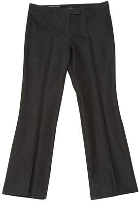 Alexander McQueen \N Black Cloth Trousers