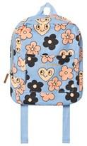 Mini Rodini Light Blue Floral Backpack