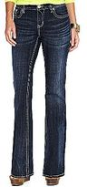 JCPenney a.n.a® Thick-Stitch Flap-Pocket Bootcut Jeans