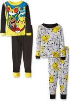 Pokemon Little Boys' Pikachu-Piece Cotton Pajama Set