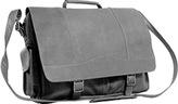 David King Men's 181 Porthole Briefcase Simple