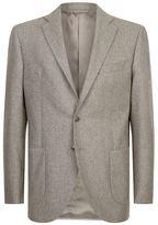 Harrods Of London Unlined Single-breast Suit Jacket