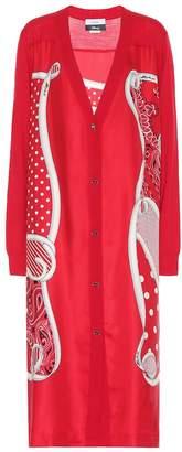 Monse x Disney wool and silk cardigan