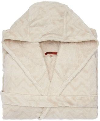 Missoni Rex Hooded Cotton Bathrobe