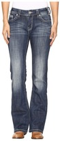 Rock and Roll Cowgirl Mid-Rise Bootcut Jeans in Dark Vintage W1-9618