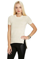 BCBGeneration Short-Sleeve Pullover Top