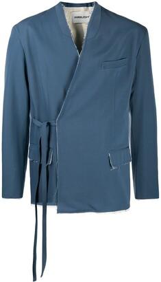 Ambush Wrap Wool Jacket