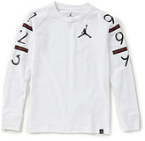 Jordan Big Boys 8-20 6 Times Long-Sleeve Tee