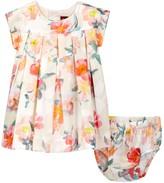 Tea Collection Bel Paese Dress & Bloomer Set (Baby Girls)