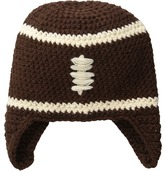 Mud Pie Chunky Knit Football Hat (Infant)