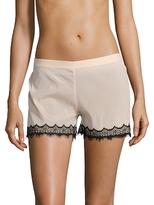 Mimi Holliday Bisou Zoo High Rise Silk Shorts