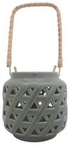 Threshold Ceramic Lantern - Grey (Small