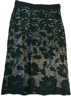 Clements Ribeiro Green Cotton Skirt for Women