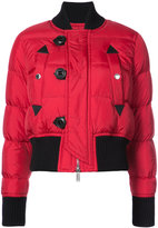 DSQUARED2 padded slim-fit puffer