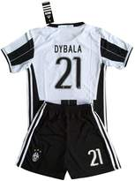 kaloyan2016 Dybala Juventus 2016-2017 Kids/Youths Home Soccer Jersey & Shorts