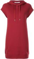 Thumbnail for your product : Alexander Wang Dence Fleece Hoodie Dress