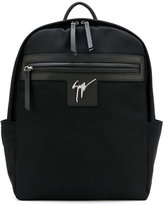 Giuseppe Zanotti Design Randy backpack - men - Leather/Polyester - One Size