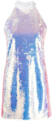Iceberg Sequinned Mini Dress