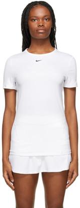 Nike White Pro 365 Essential T-Shirt