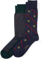 Polo Ralph Lauren Shield Trouser Sock 2-Pack