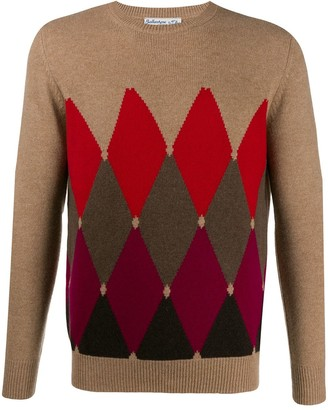 Ballantyne patterned sweater