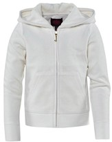 Juicy Couture Velour Glamourous Print Hoody