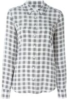 Equipment checked shirt - women - Silk - XS