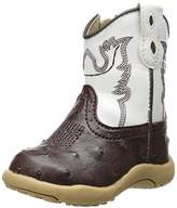Roper Cowbaby Ostrich Western Boot (Infant/Toddler),