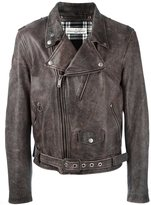 Golden Goose Deluxe Brand 'Chiodo' biker jacket - men - Leather/Polyester/Viscose - L