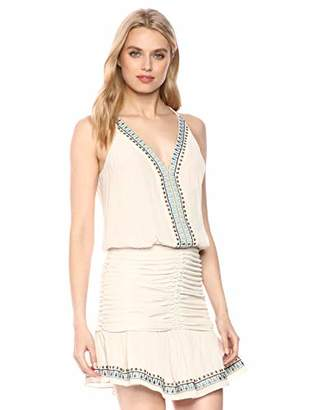 Ramy Brook Women's Sleeveless Rouched Arya Dress