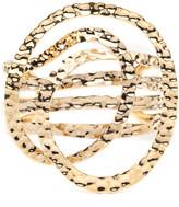 Alexis Bittar Hammered Coil Cuff Bracelet