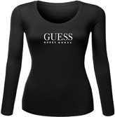 hello forever Guess For Womens Printed Long Sleeve tops t shirts