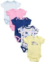 Baby Gear Baby Girl 5-pk. Print Bodysuits