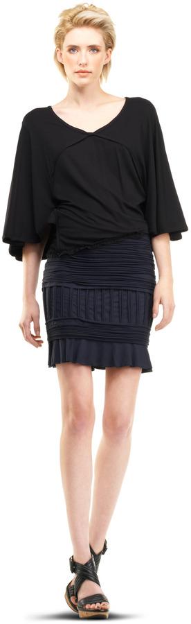 Max Studio Textural Skirt
