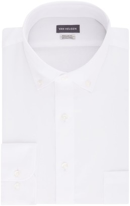 Van Heusen Men's Regular-Fit Wrinkle-Free Dress Shirt