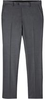 Jigsaw Italian Flannel Slim Fit Suit Trousers, Grey