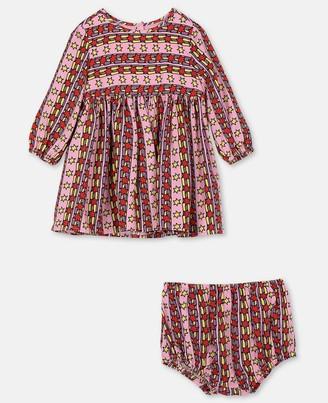 Stella Mccartney Kids Rising Stars Tencel Twill Dress, Unisex