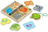 Melissa & Doug Kids' Alphabet Lacing Cards