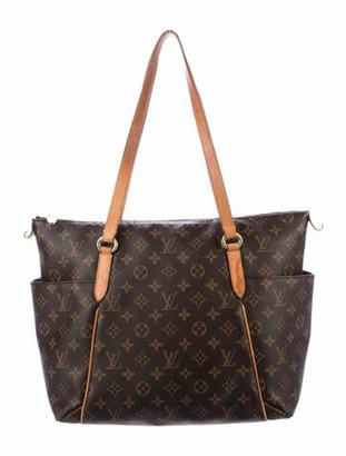 Louis Vuitton Monogram Totally MM Brown