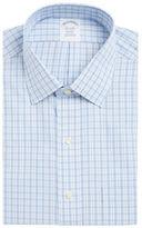Brooks Brothers Checkered Plaid Dress Shirt