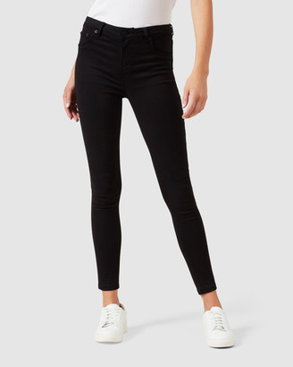 French Connection Mid Rise Skinny Jean