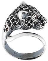 Iosselliani 'Silver Heritage' cheetah ring