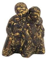 Ceramic figurine, 'Warmth of Love'