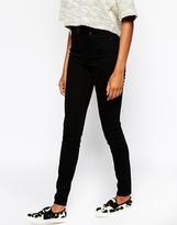 Monki Black Stretch Skinny Jeans